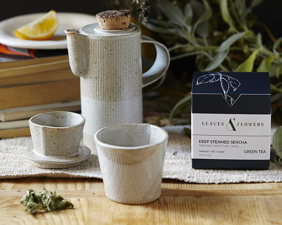 Leaves Flowers Beautiful Handcrafted Tea Collection Meets The World Mccalman